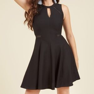 Modcloth Moxie Must Have Dress in black
